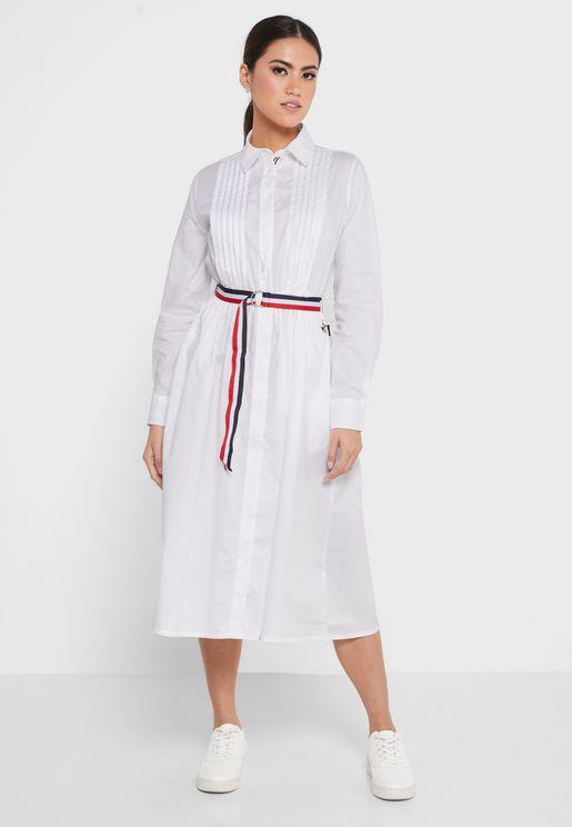 Button Down Shirt Dress
