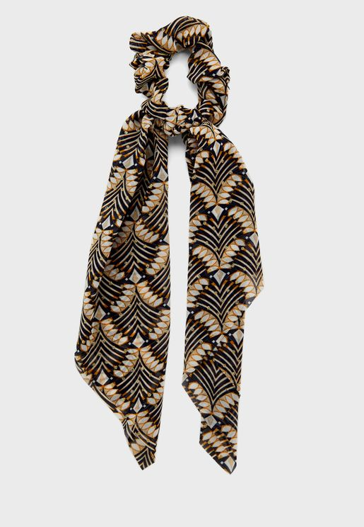 ربطة شعر بلونين