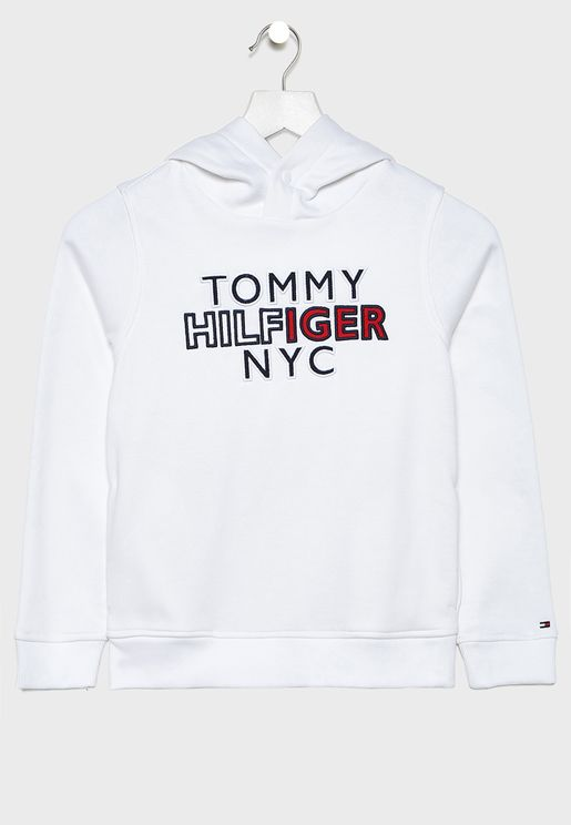 Little NYC Graphic Hoodie