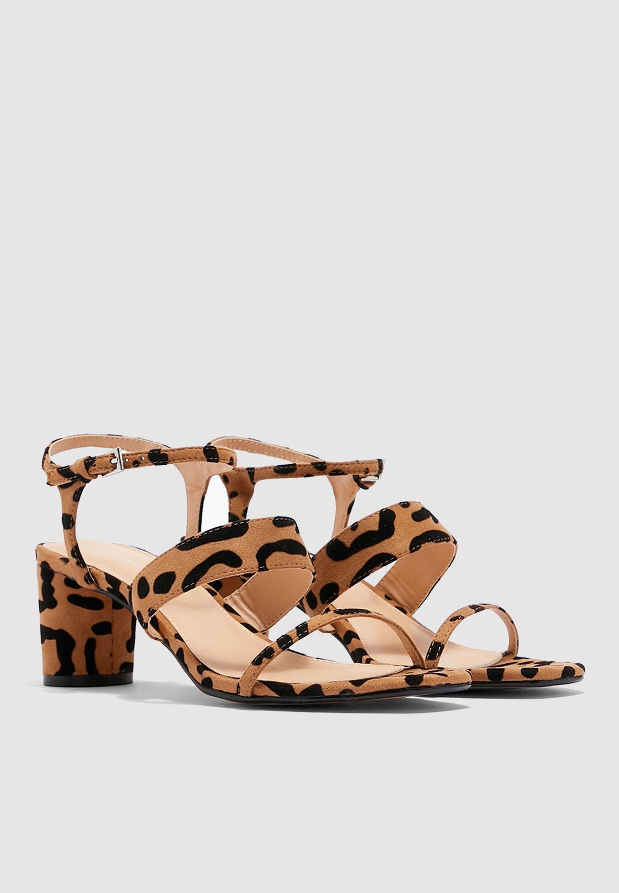 Buy Topshop prints Dita Leopard Strap