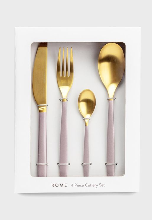 Set Of 4 Rome Cutlery
