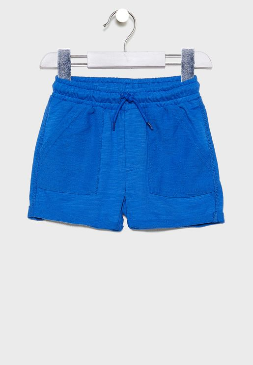 Kids Henry Slouch Sweat Shorts