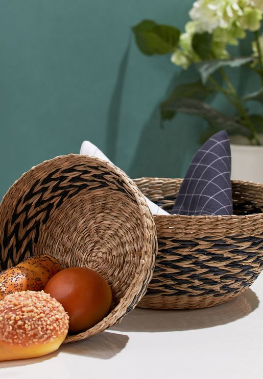 Set of 2 Seagrass Basket