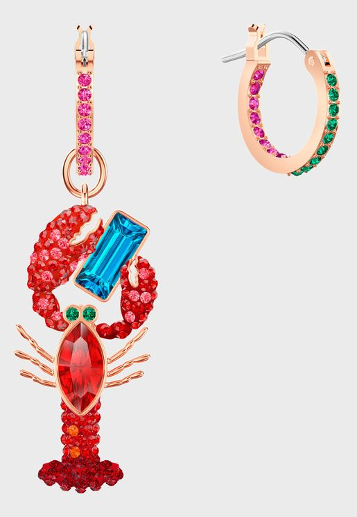 Ocean Pierced Lobster Earrings