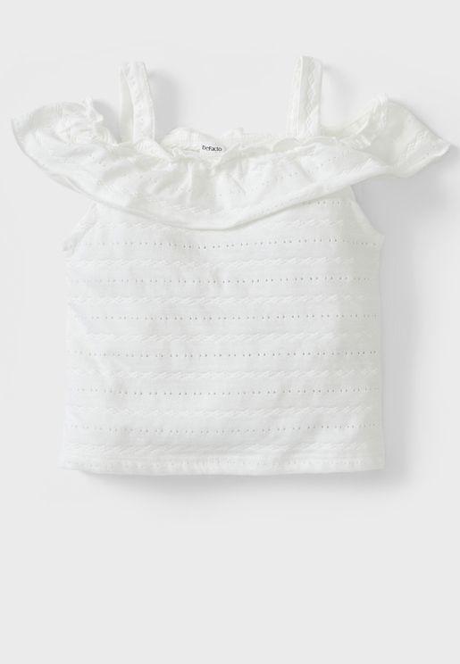 Infant Cold Shoulder Top