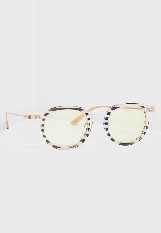 CK18701S Round Sunglasses