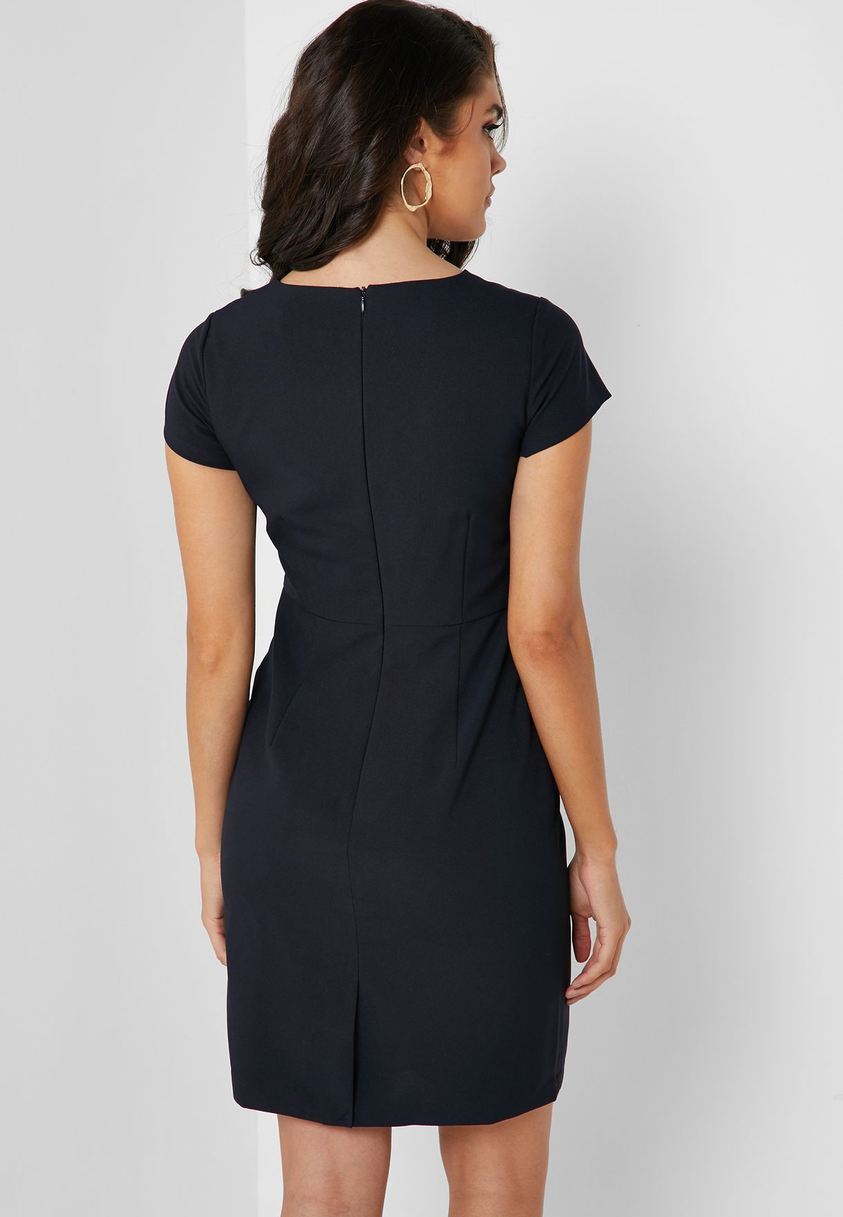 Ruched Waist Detail Dress
