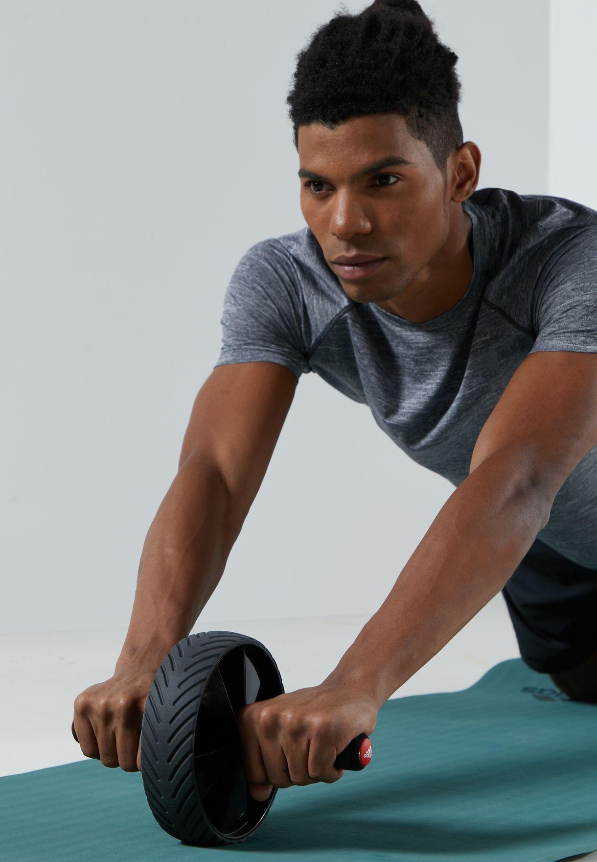 عجلة تمرين العضلات بمقابض