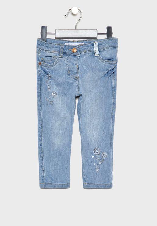 جينز اطفال ضيق