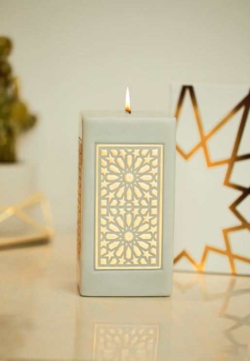 Noor Large Pillar Candle