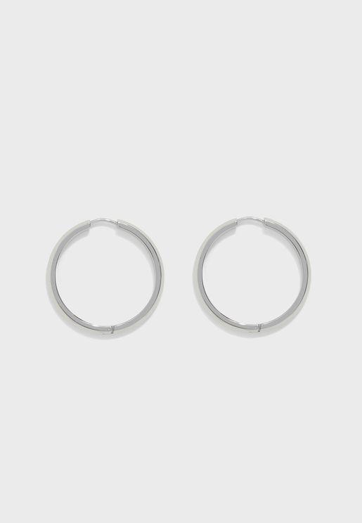 1580016 Insignia Hoop Earring
