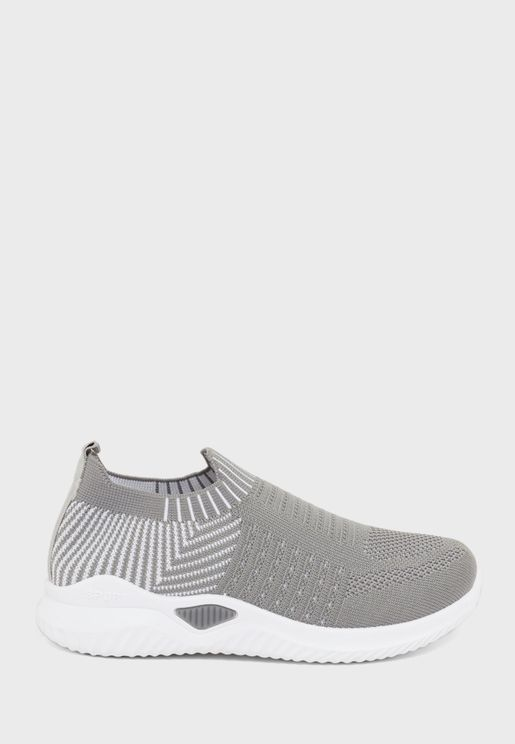 Youth Perforated Slip On