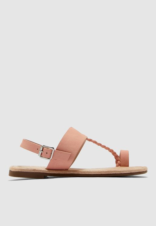 Youth Buckle Detail Sandal