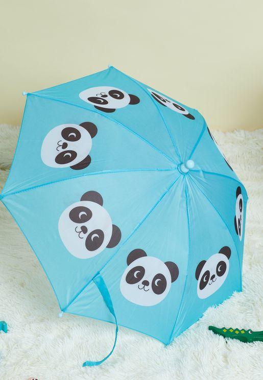 مظلة بطبعات باندا للاطفال