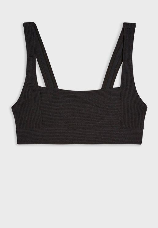 Cropped Bikini Top