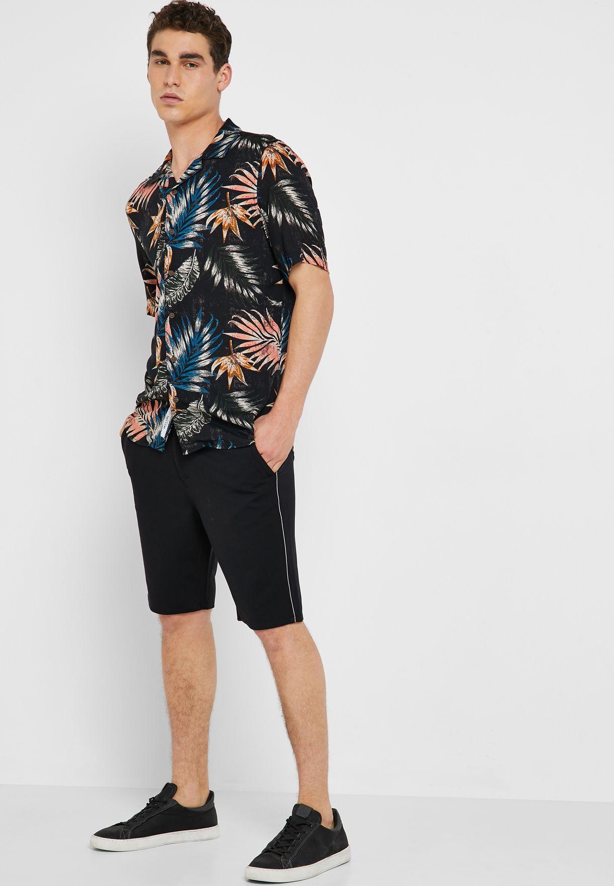 Aged Stripe Shorts