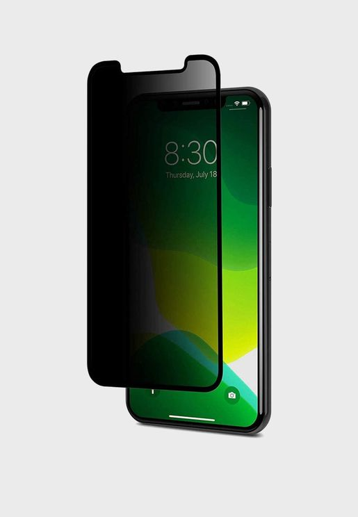Moshi iPhone 11 Pro / XS/X  Ionglass Privacy  - Bl