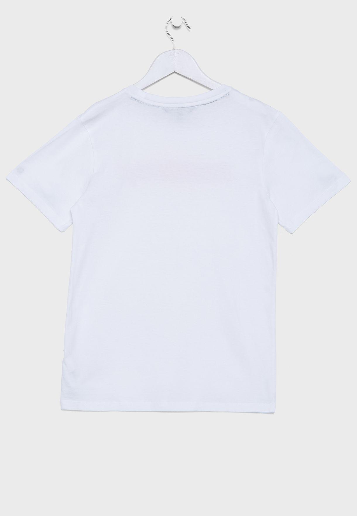 Teen Crew Neck T-Shirts