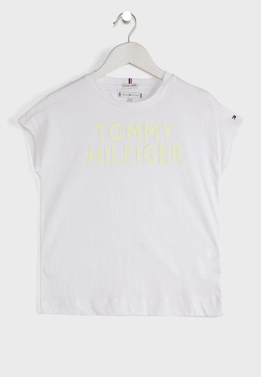 Teen Logo Casual T-Shirt