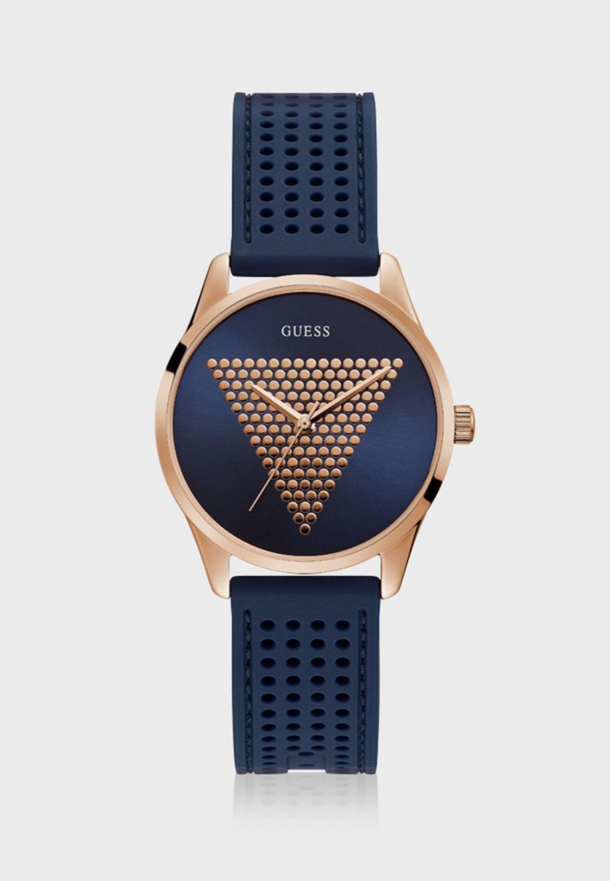 0abb743f2 Shop Guess blue Mini Imprint Analog Watch W1227L3 for Women in UAE ...
