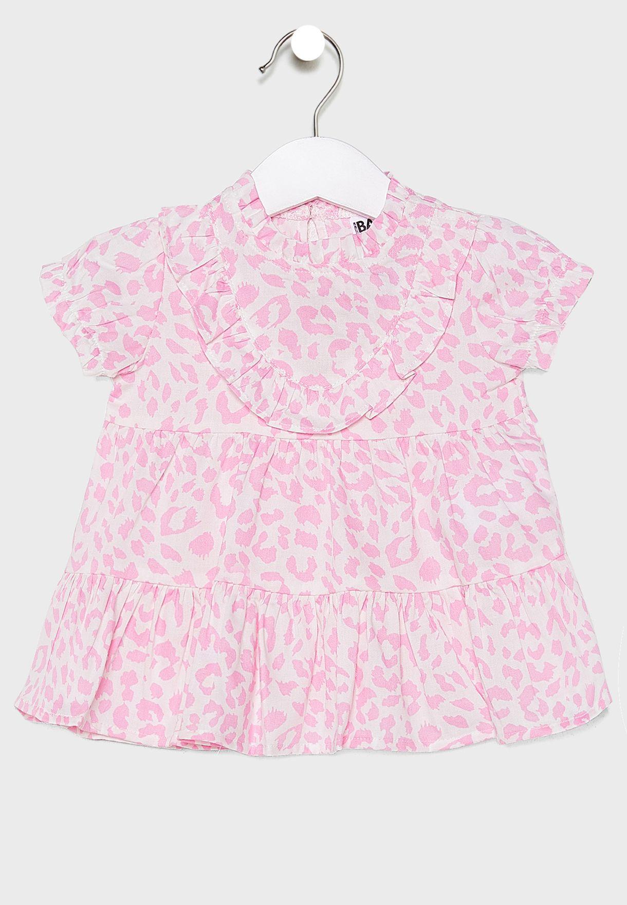 Infant Summer Ocelot Dress