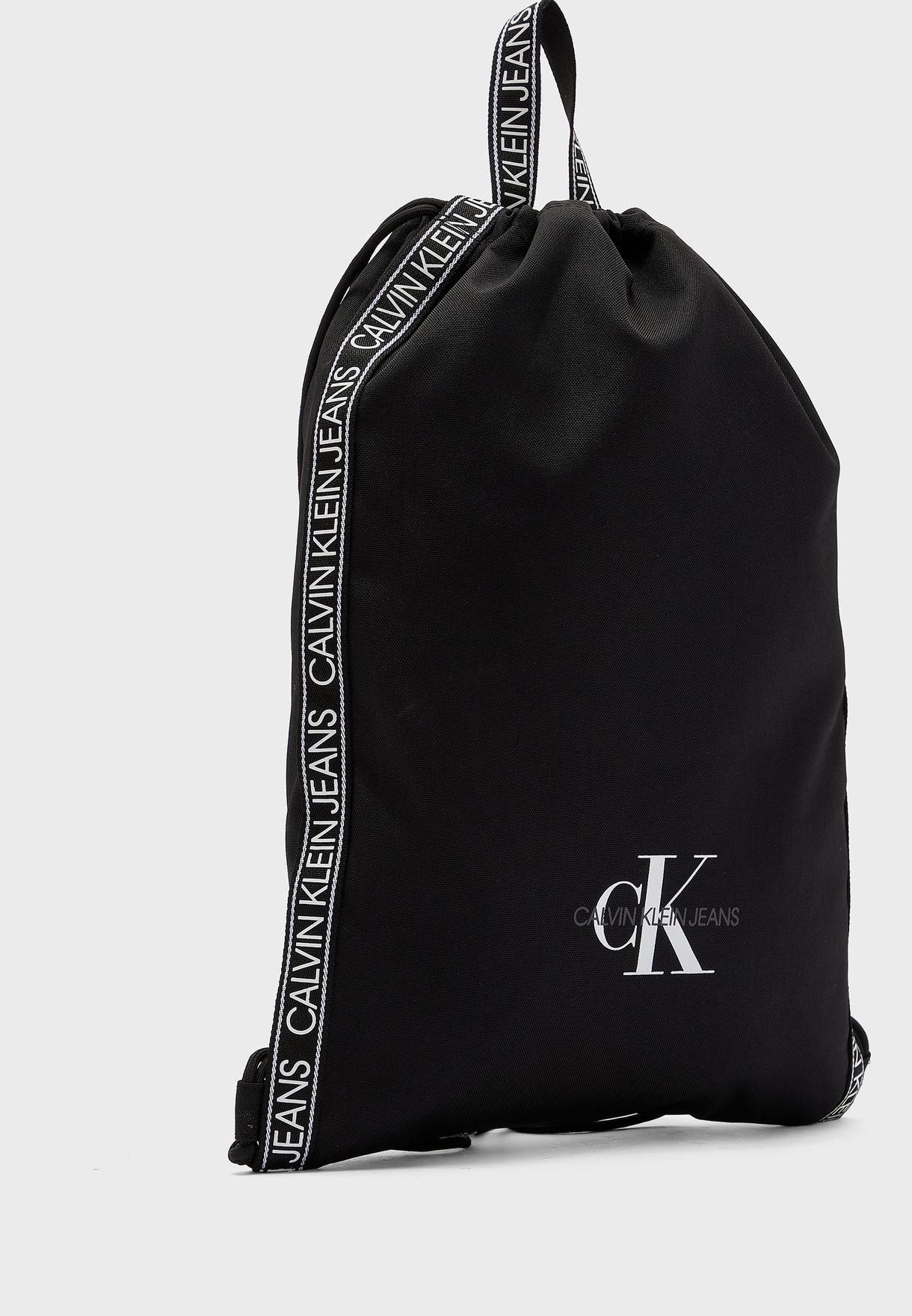 Logo Drawstring Backpack