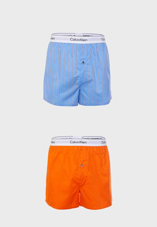 2 Pack Assorted Boxers