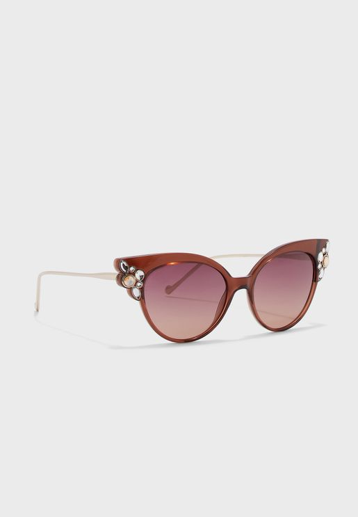 LJ685SR Cat Eye Sunglasses