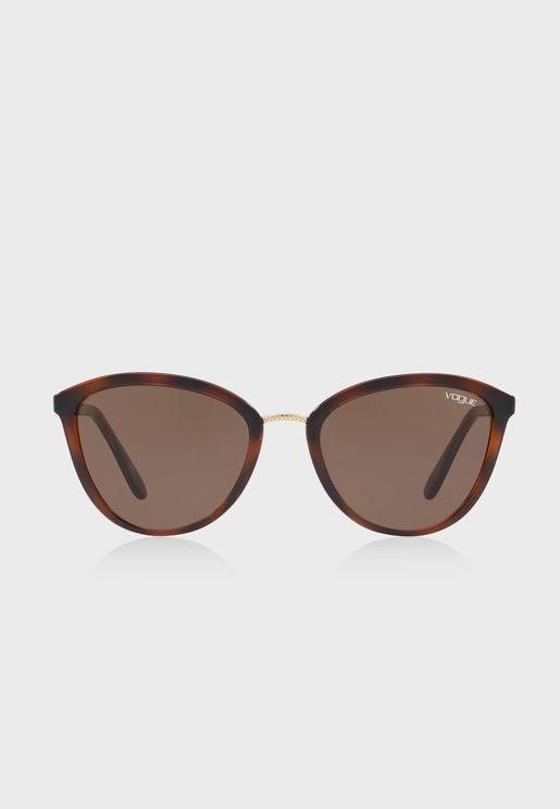0Vo5270S Wayfarer Sunglasses