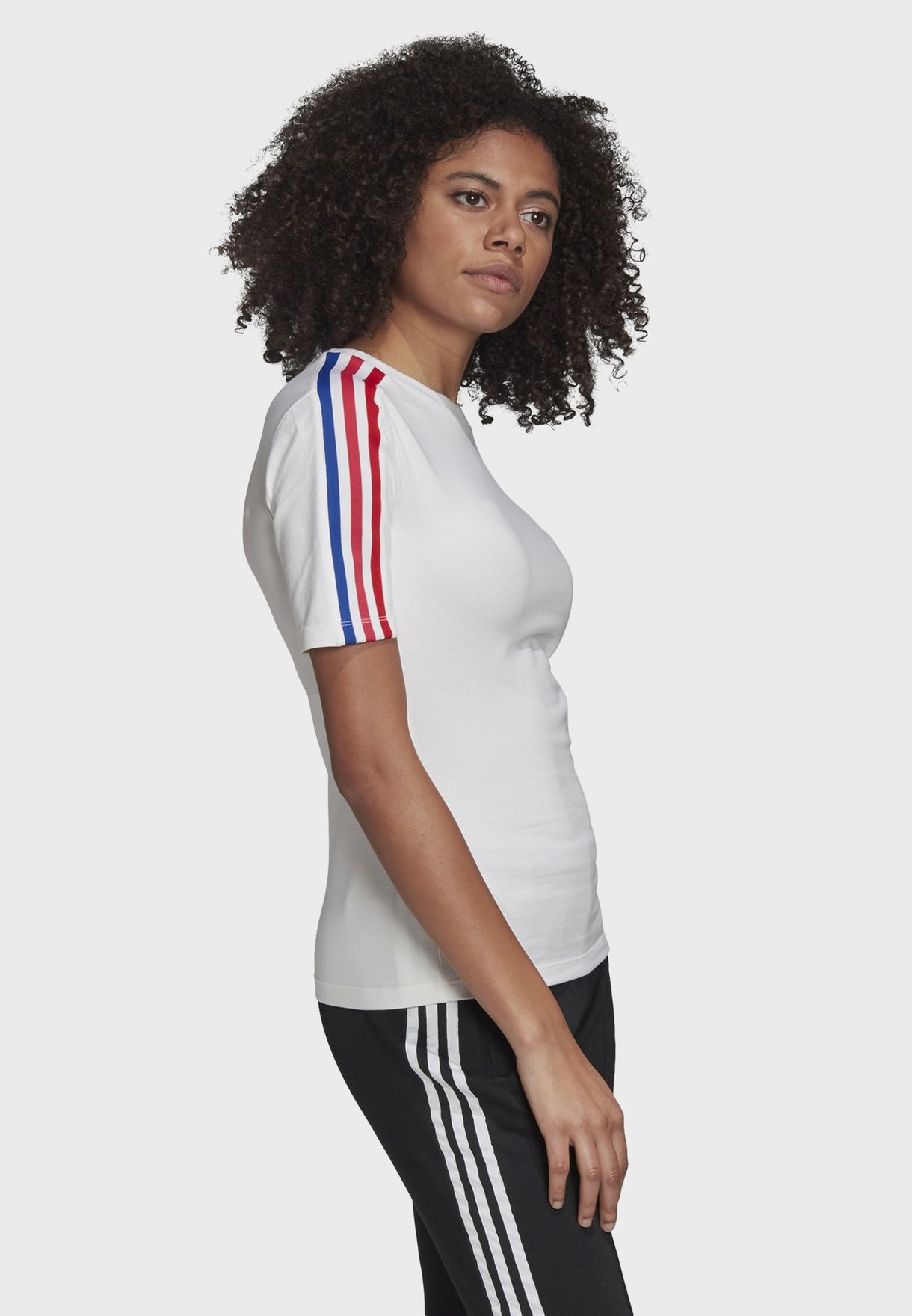 3 Stripe Logo T-Shirt