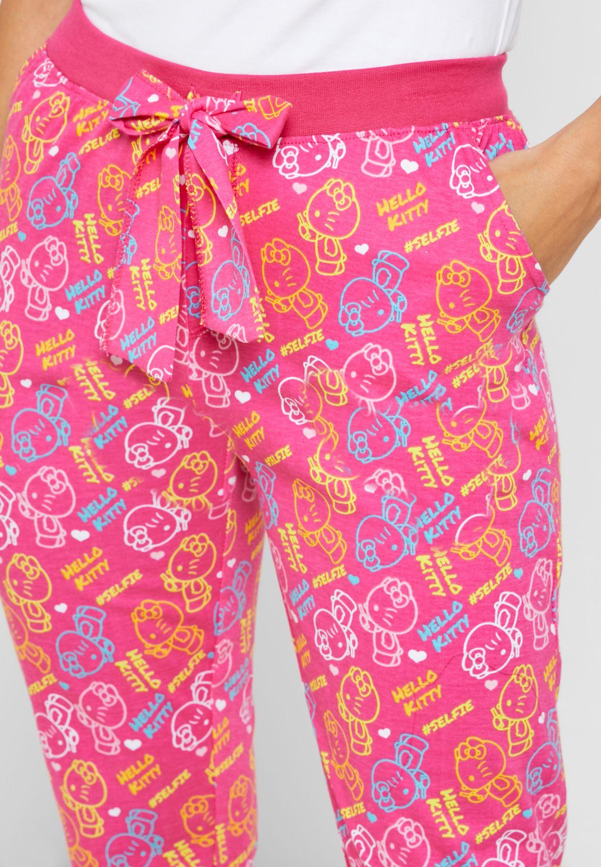Floral Print Pyjama