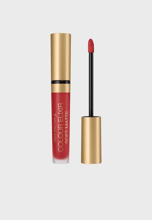 Colour Elixir Soft Matte Lipstick 030 Crushed Ruby