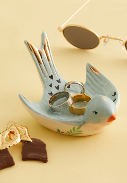Bird Trinket Dish With Gift Box