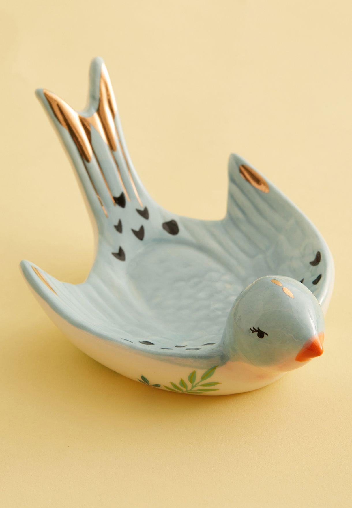 Bird Trinket Dish With Gift Box
