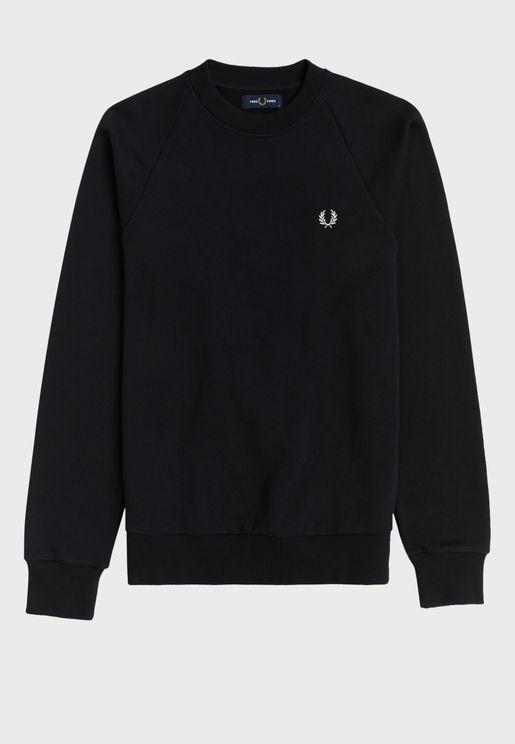 Concealed Tape Sweatshirt