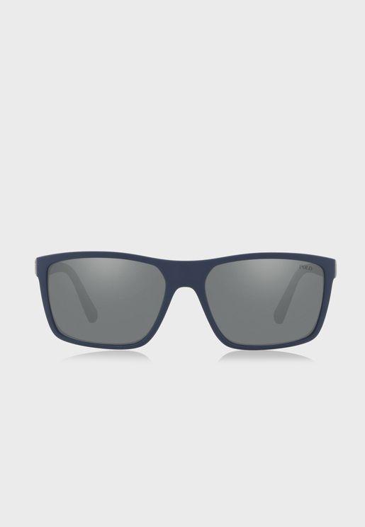 0PH4133 Wayfarer Sunglasses