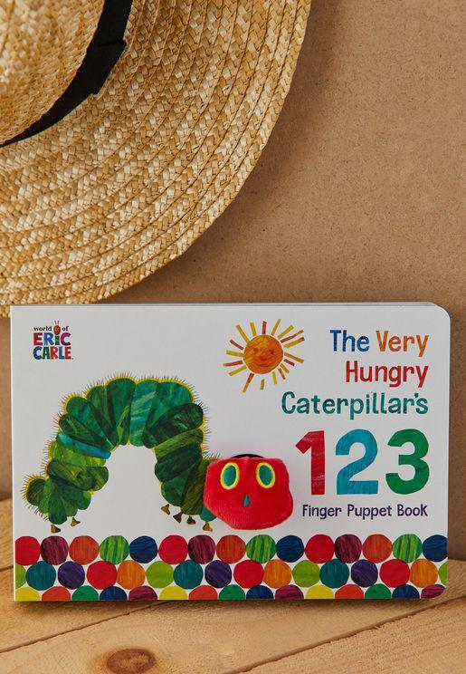Hungry Caterpillar Finger Puppet Book