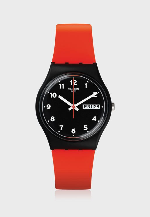 The Red Grin Analog Watch
