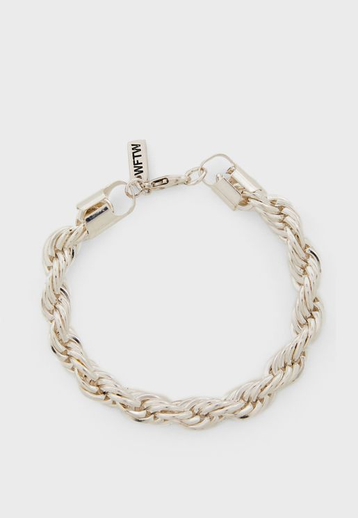 Twisted Rope Chain Bracelet