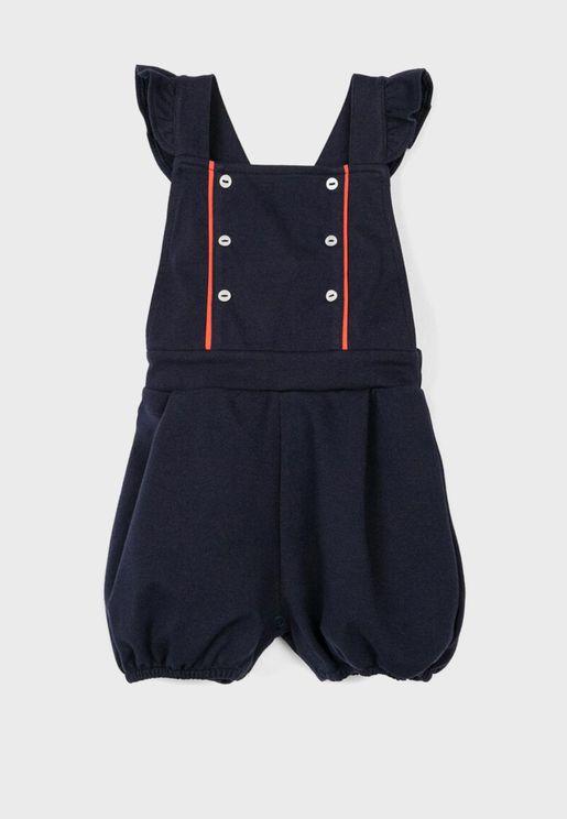 Infant Ruffle Strap Playsuit