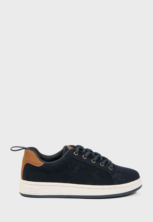 Kids Perforated Sneaker