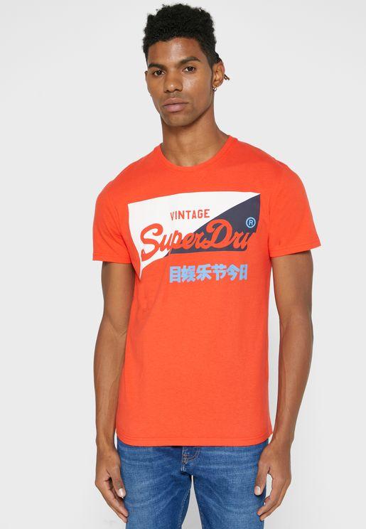 Primary Crew Neck T-Shirt