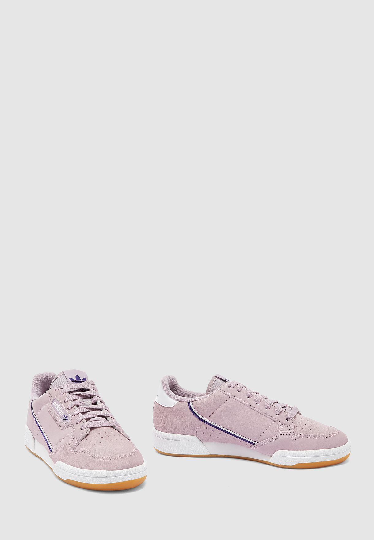 Buy adidas Originals purple Continental