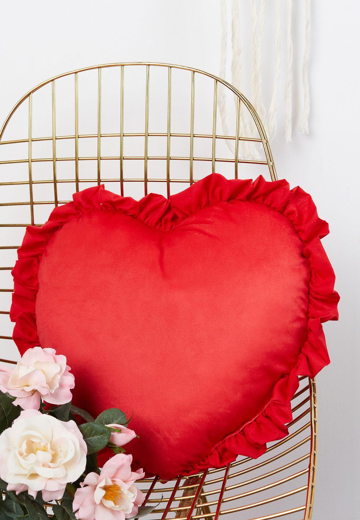 وسادة قلب بطباعة Heartbreaker