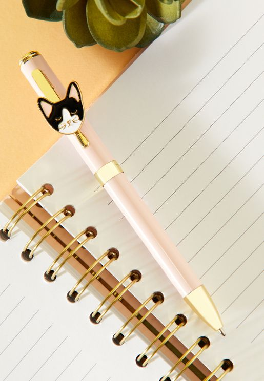 Cat Enamel Icon Pen