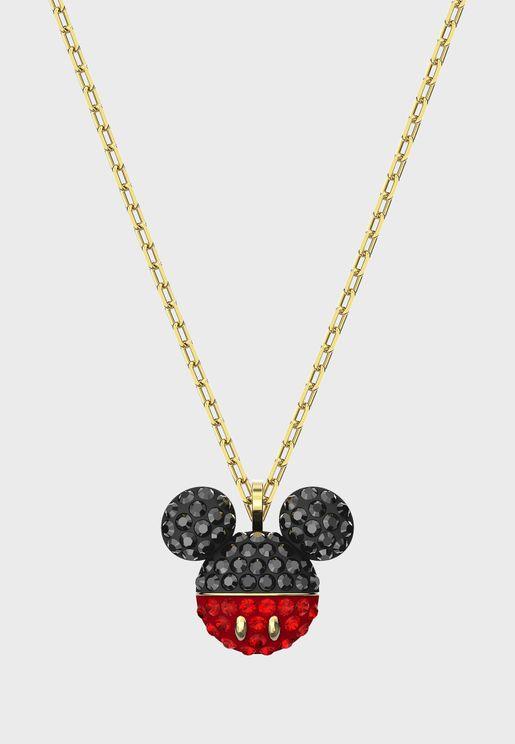 Mickey & Minnie Pendant Necklace