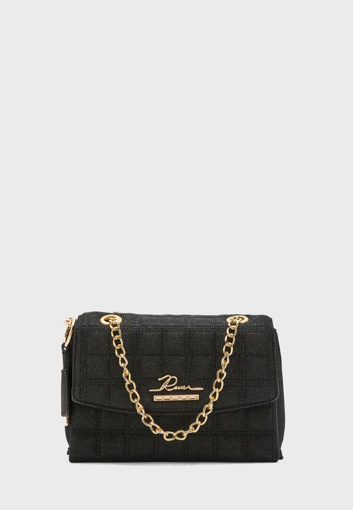 River Quilted Satchel