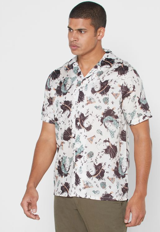 Mimas Print Regular Fit Shirt