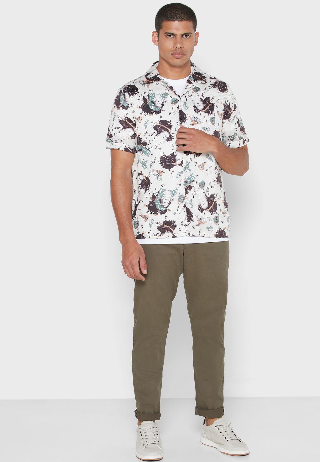 Mimas Print Regular Fit Shirt