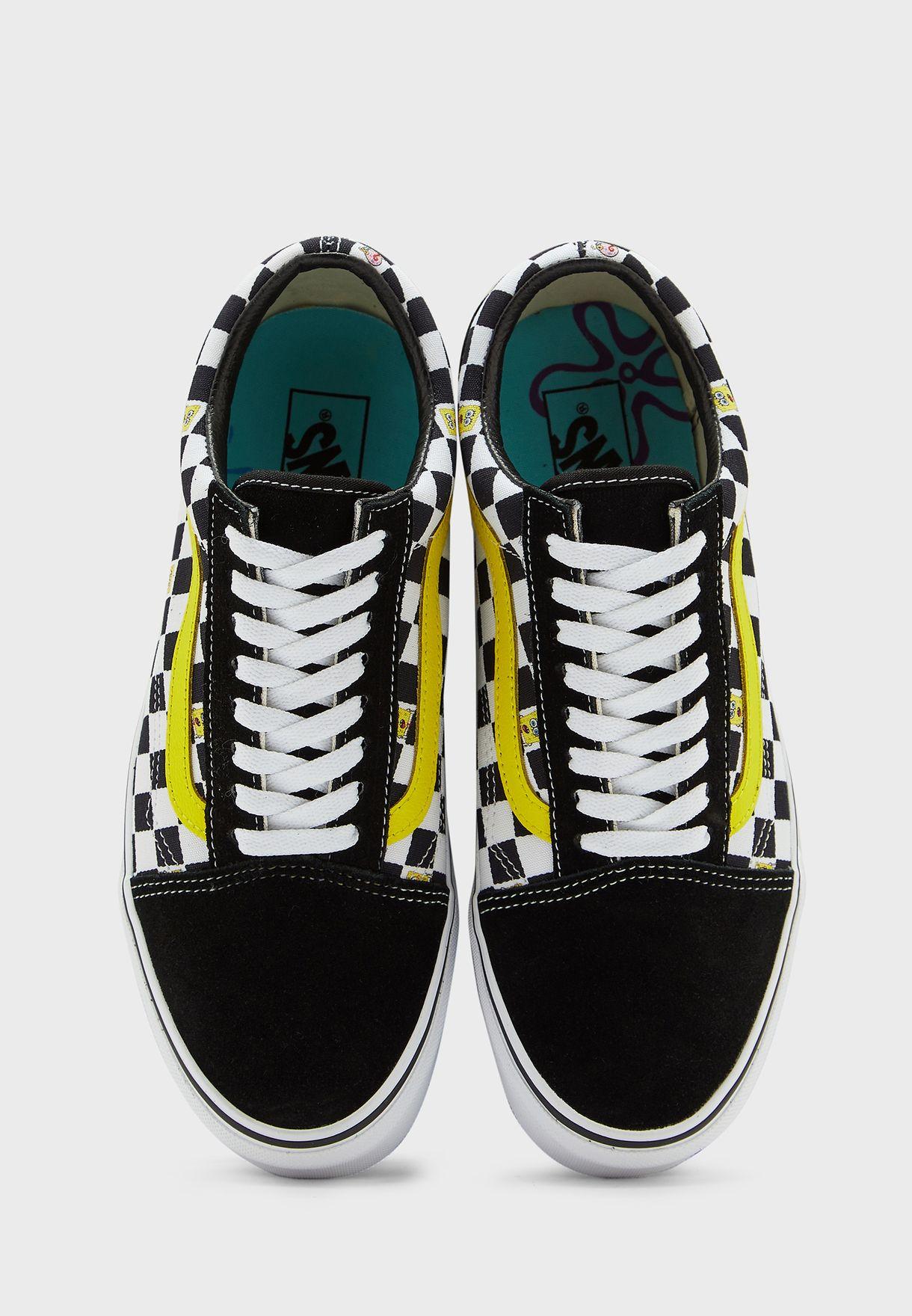 حذاء سبونج بوب اولد سكول